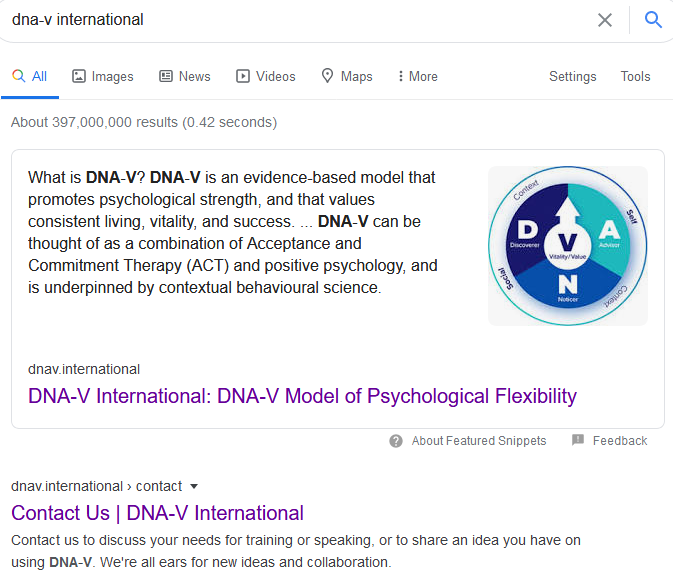seo featured snippet